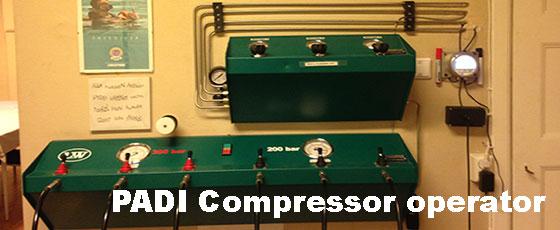 PADI Compressor Operator