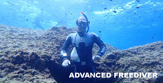 Advanced freediver