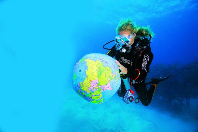 Divemaster över hela världen