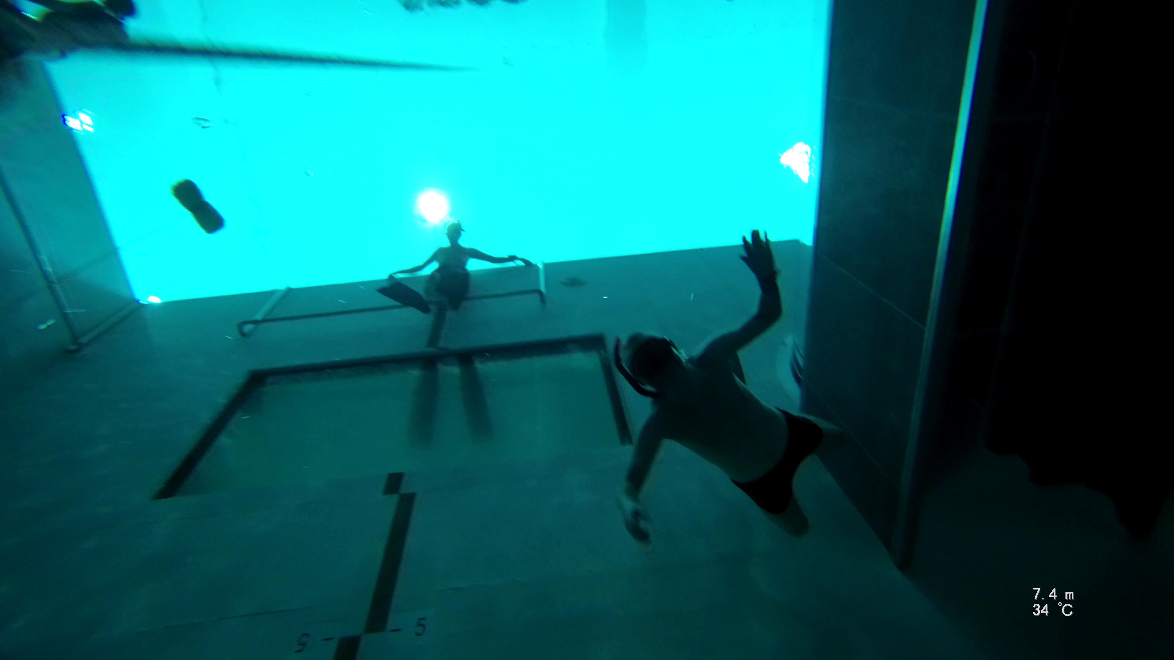 Dykning i Y-40