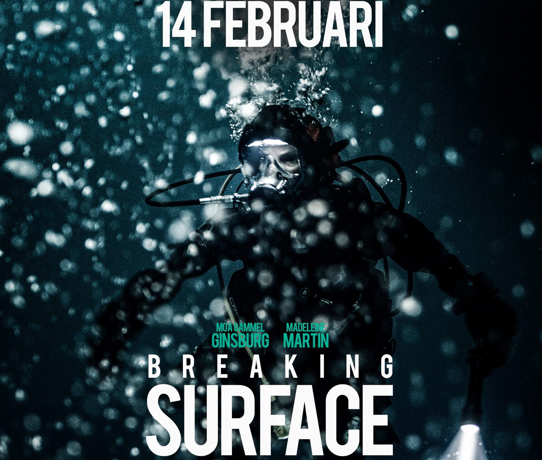 Ny svensk dykthriller - Breaking surface