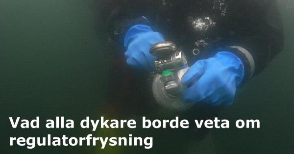 Vad alla dykare borde veta om regulatorfrysning